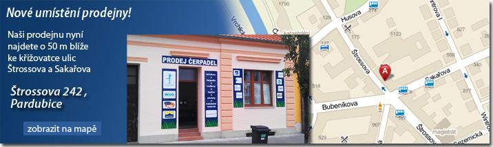 Prodejna Štrossova 242, Pardubice